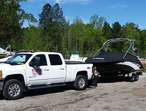 Transporting your boat to your your new home cross country.